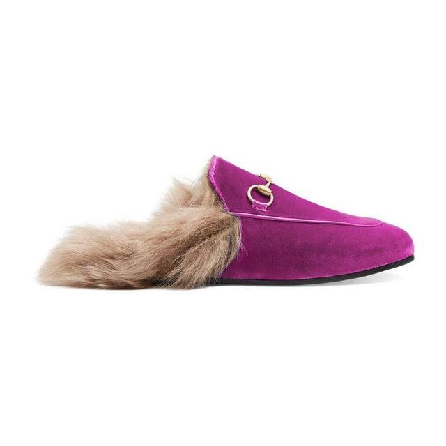 Princetown velvet slipper