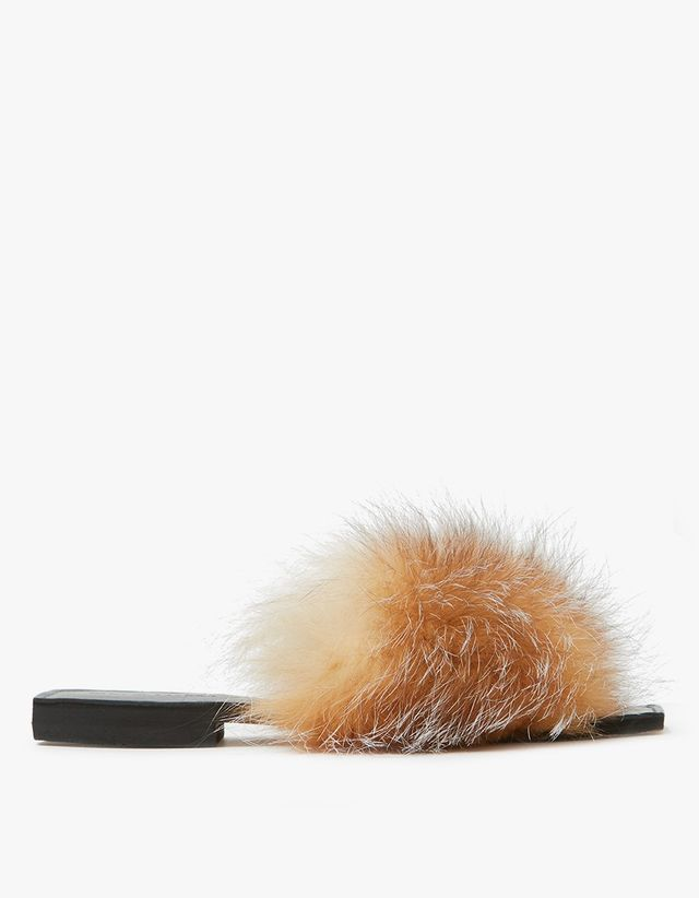 Parme Marin Furry Baby Slide