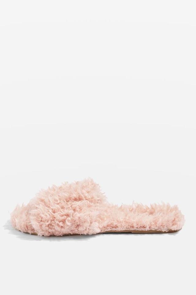 Hunt Furry Slippers