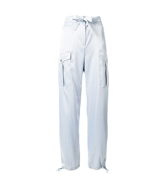 Bow Detail Cargo Trousers