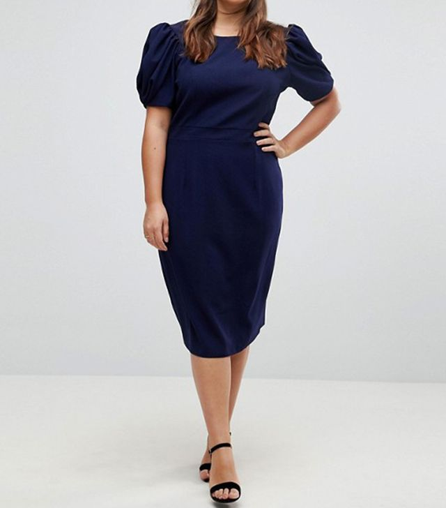 ASOS Design Midi Pencil Dress