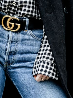 7 Logo Belts That You'll Wear Just as Much as Your Gucci One