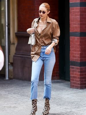 This Is How to Wear Ankle Boots With Jeans Now
