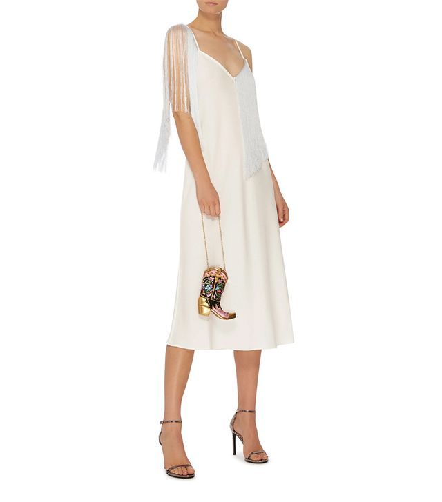 Fandango Fringed Slip Dress