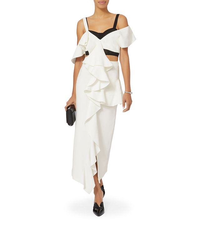 Proenza Schouler Cady Ruffle Dress