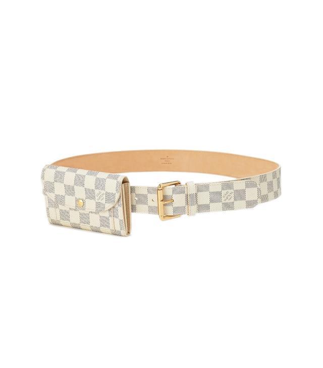 Louis Vuitton Damier Azur Pochette Solo Belt 40