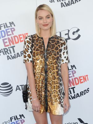 Thank You Margot Robbie, For Revitalising the Little Leopard Dress