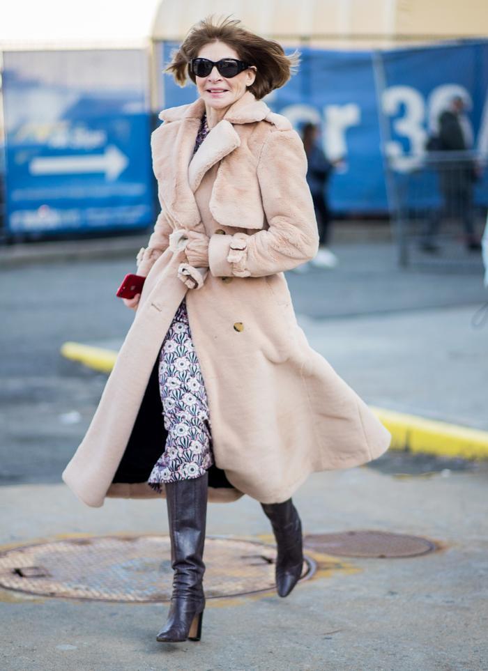 Anna Wintour Fashion Month Boots