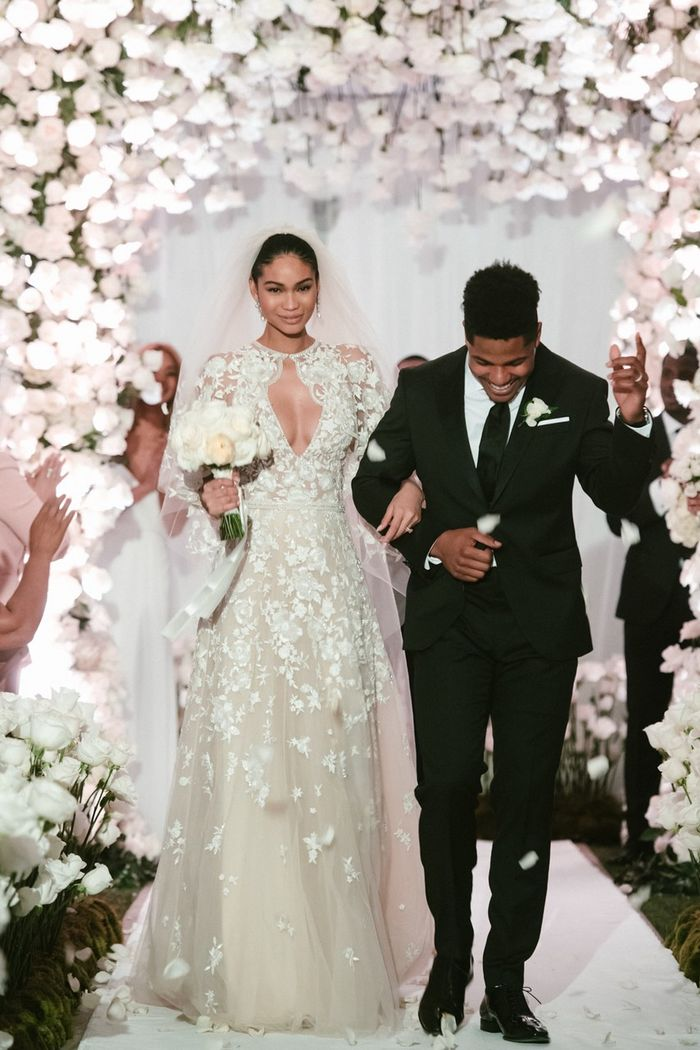 Chanel Iman Wedding Photos | Who What Wear