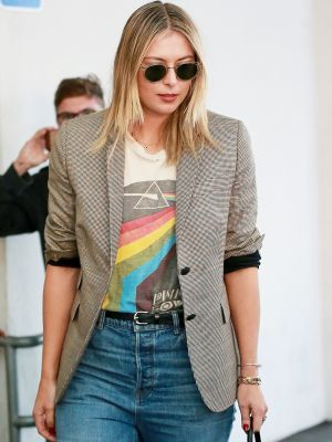 Maria Sharapova Told Us the L.A. Way to Style Her New Nike Sneakers