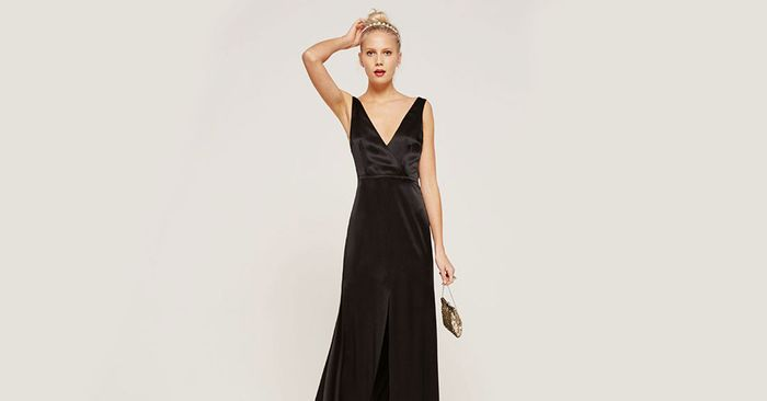 How To Dress For A Black Tie Wedding Who What Wear