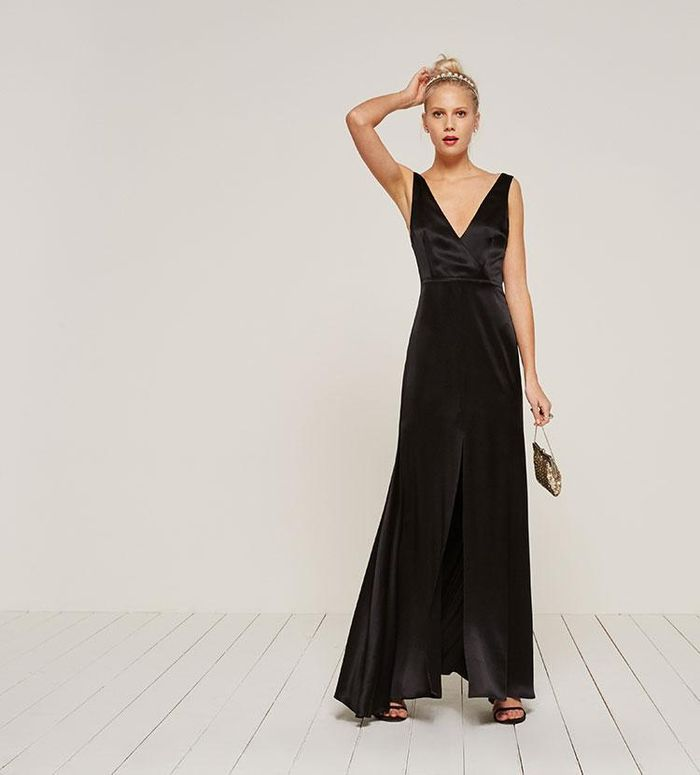 How to dress for a black tie wedding who what wear pinterestshop junglespirit Images