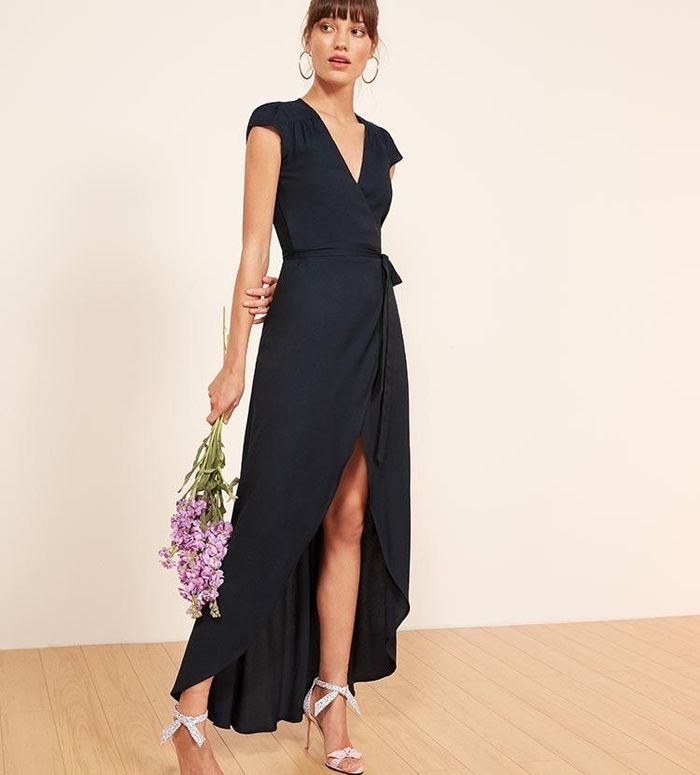 How to dress for a black tie wedding who what wear junglespirit Image collections