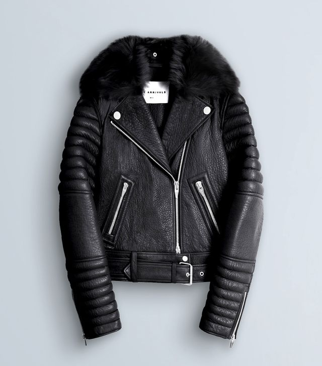 The Arrivals Rainier Leather Jacket