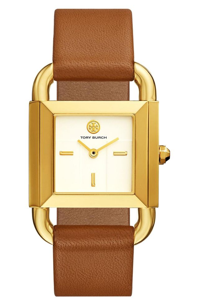 Phipps Leather Strap Watch