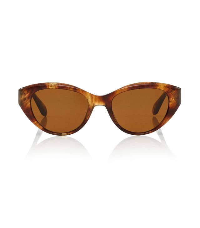 Del Rey 50 Cat-Eye Acetate Sunglasses
