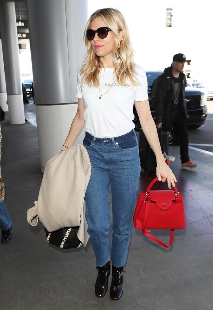 Sienna Miller Wrangler Jeans