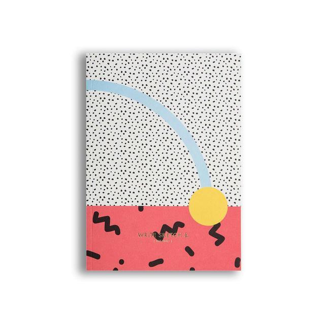 Write Sketch & Super Confetti Notebook