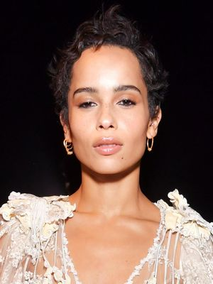 Zoë Kravitz's Fashion Week Look Is Totally Impractical, But Who Cares?