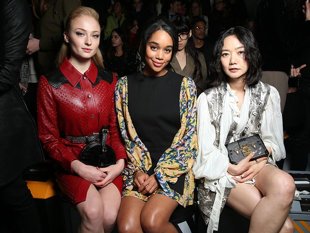 Sophie Turner, Laura Harrier, Doona Bae