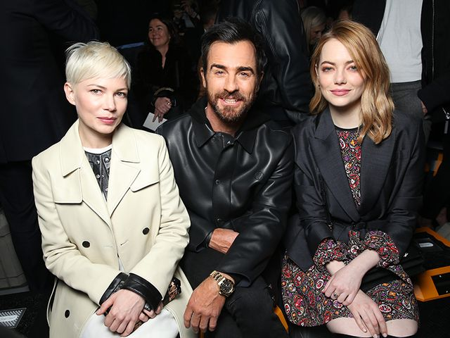 Michelle Williams, Justin Theroux, Emma Stone