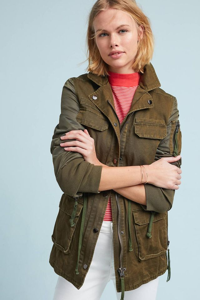 Doma Army Anorak
