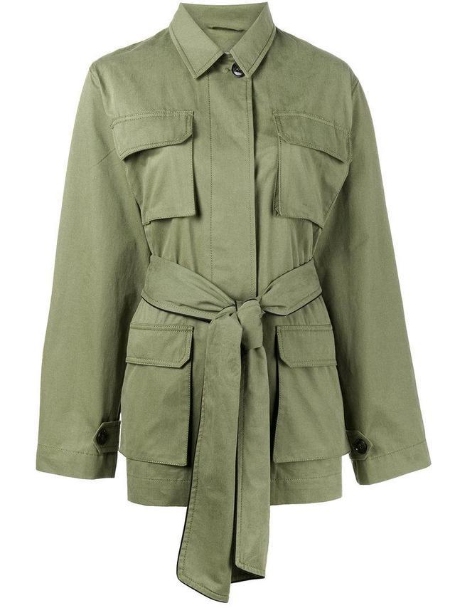 Fabre belted jacket