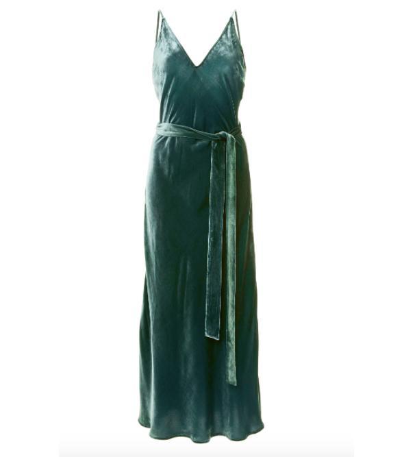 Slip Velvet Dress