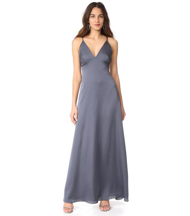 Sateen Slip Gown