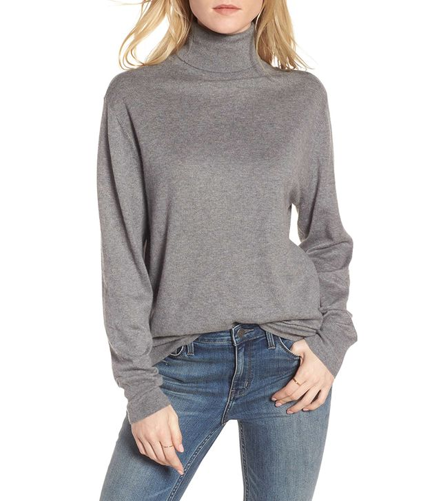 Boyfriend Turtleneck Sweater