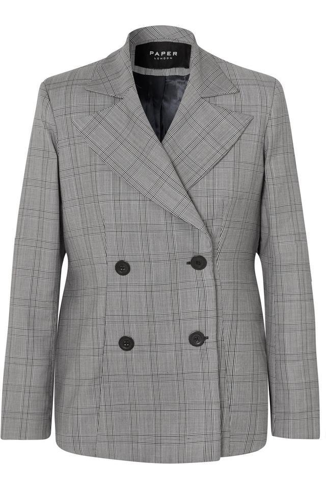 Paper London Wool Blend Blazer