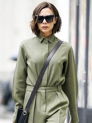 Victoria Beckham Just Invented a Strange New Way to Carry a Handbag