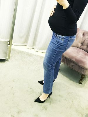 We Try Before You Buy: Topshop's Maternity Jeans