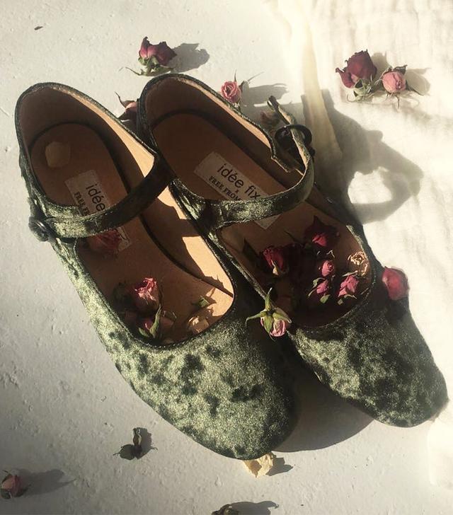 Idée Fixe Emerald Mary Janes