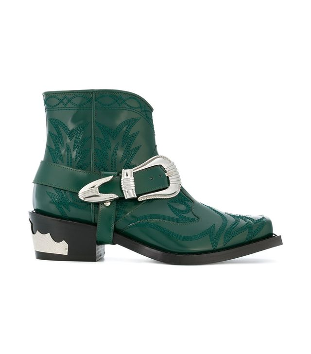 Toga Pulla Cow Boy Ankle Boots