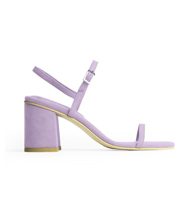 Rafa The Simple Sandal in Heliotrope
