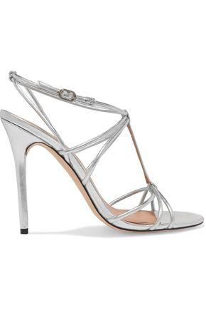 Anita Metallic Leather Sandals