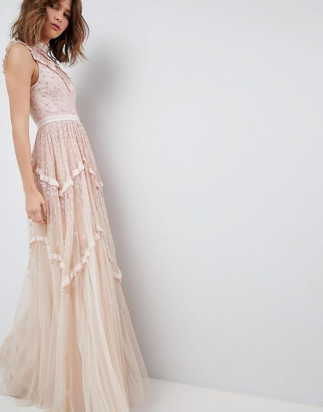 Daisy Shimmer Gown