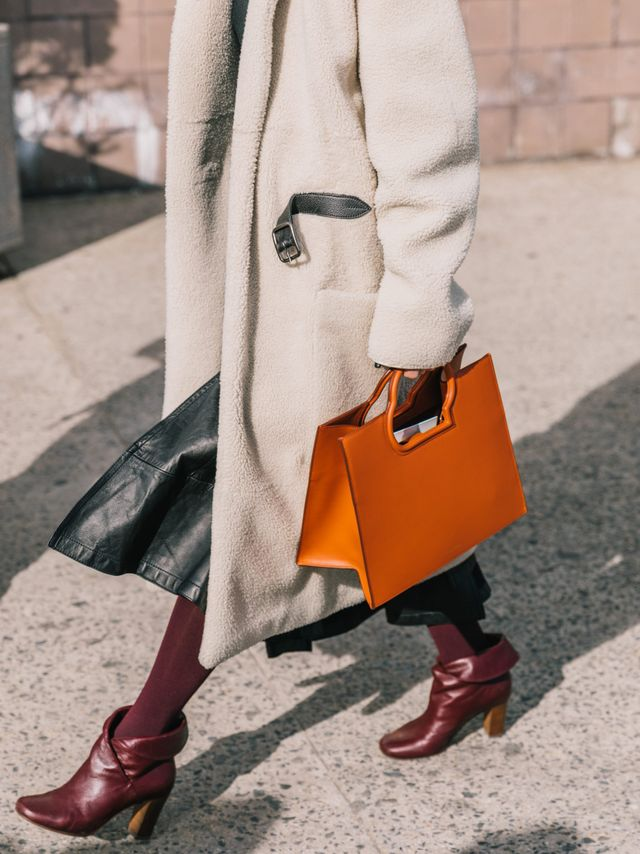 Want to add some color but need something a little more subtle? A burgundy pair of hosiery will go with just about anything you wear.