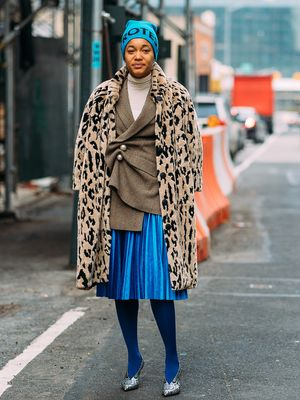 Yes, You Can Pull Off Colorful Tights and Here's How