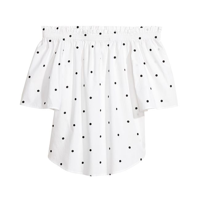 H&M Polka-Dot Top (£17.99)