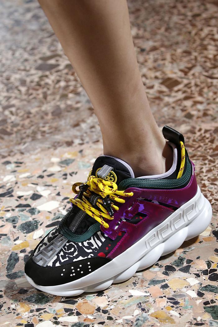 Versace sneakers fall 2018