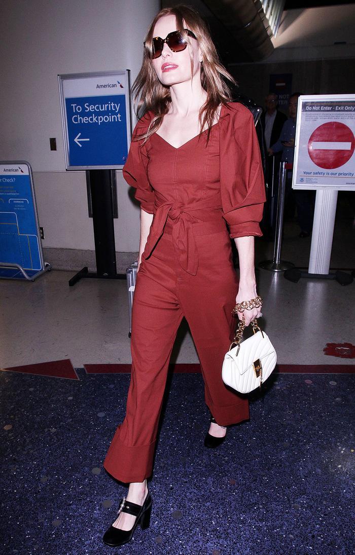 Kate Bosworth Chloe bag airport