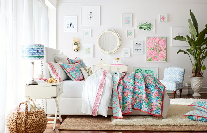Get A First Look At Pottery Barn S New Lilly Pulitzer Line