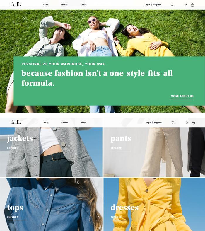 Frilly.com fashion review