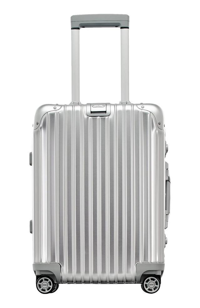 Rimowa Topas 22-Inch Cabin Multiwheel Aluminum Carry-On - Metallic