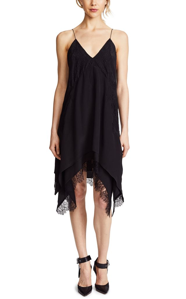 Hargan Lace Slip Dress