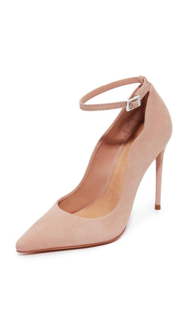 Thaynara Ankle Strap Pointed Heels
