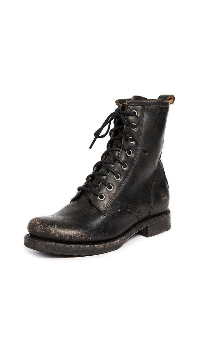 Veronica Combat Boots