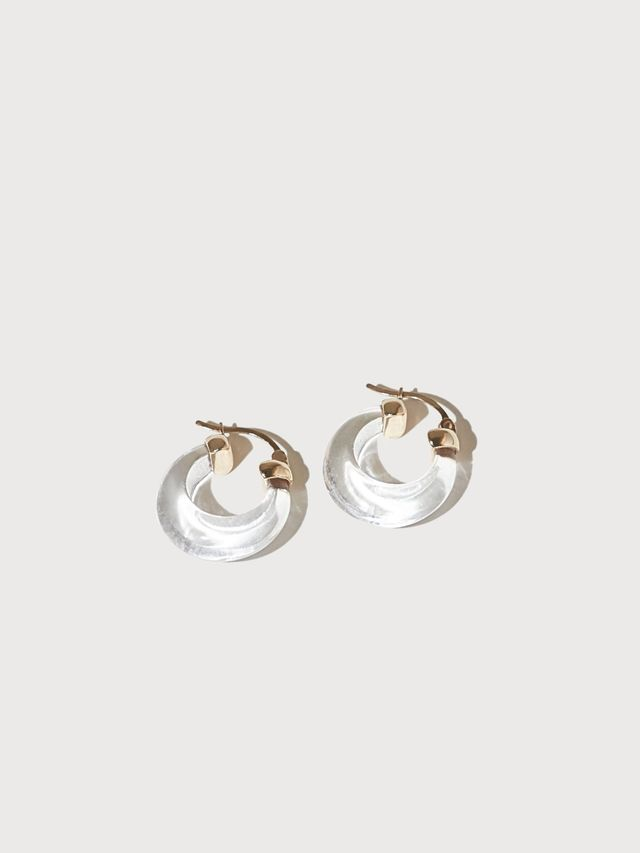 J. Hannah Glacé Hoop Earrings